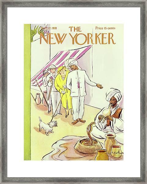 New Yorker August 22 1931 Framed Print