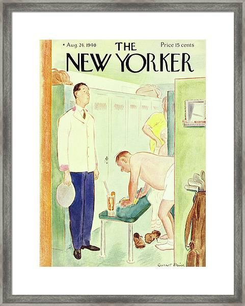 New Yorker August 24 1940 Framed Print