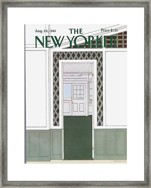 New Yorker August 24th, 1981 Framed Print by Gretchen Dow Simpson