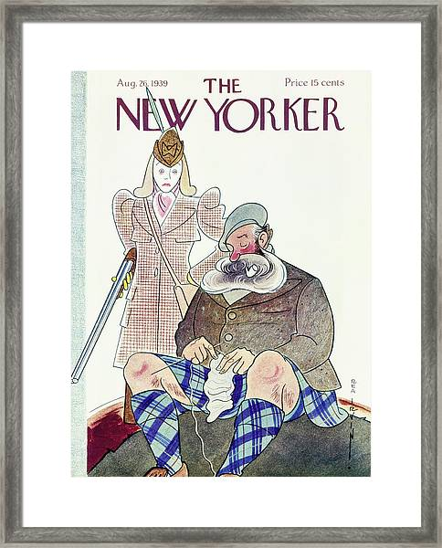New Yorker August 26 1939 Framed Print by Rea Irvin