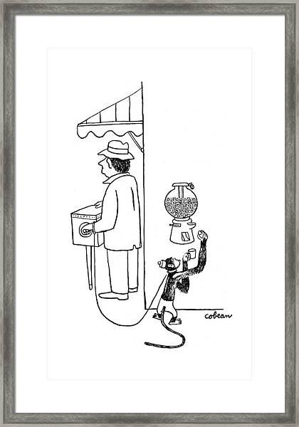 New Yorker August 26th, 1944 Framed Print