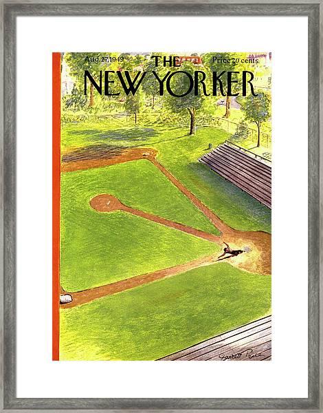 New Yorker August 27th, 1949 Framed Print