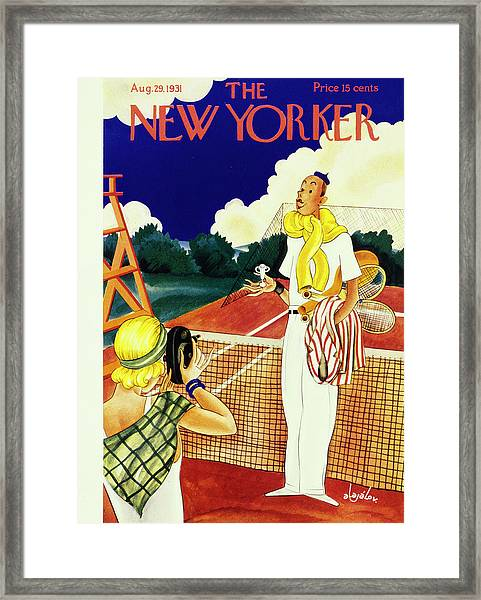 New Yorker August 29 1931 Framed Print