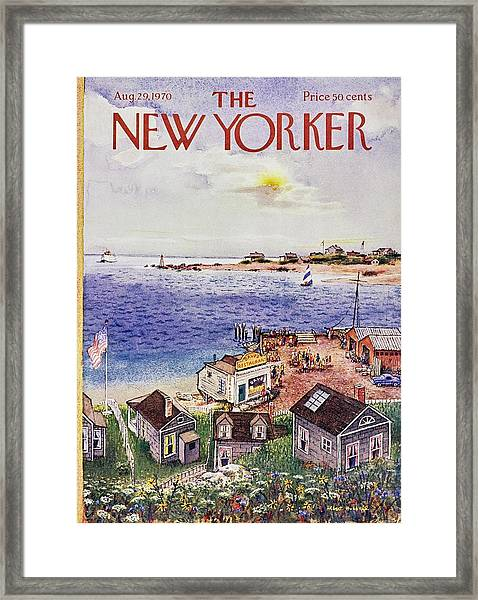 New Yorker August 29th 1970 Framed Print