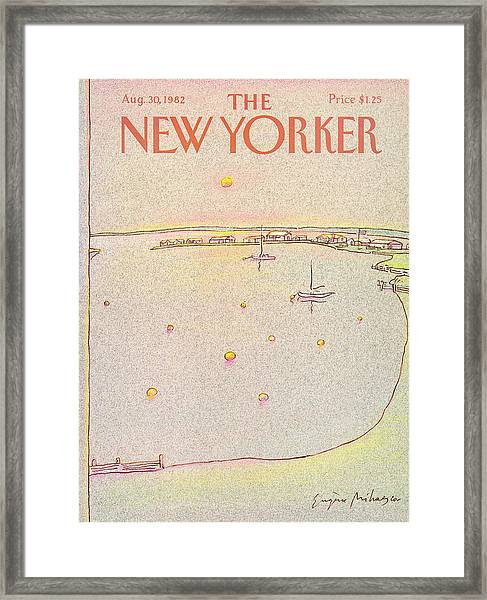 New Yorker August 30th, 1982 Framed Print