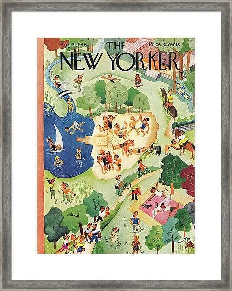 New Yorker August 31st, 1946 Framed Print