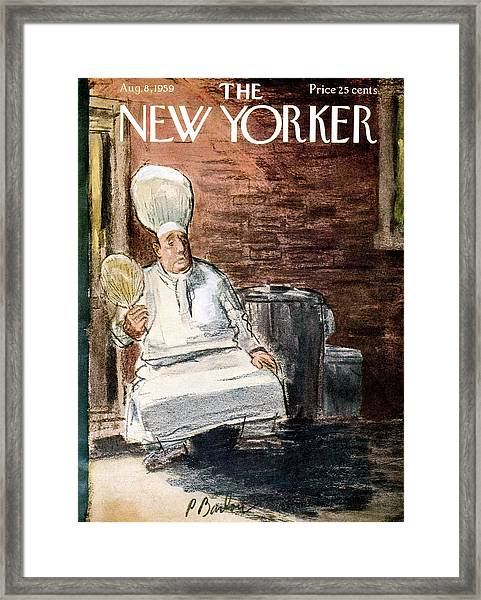 New Yorker August 8th, 1959 Framed Print
