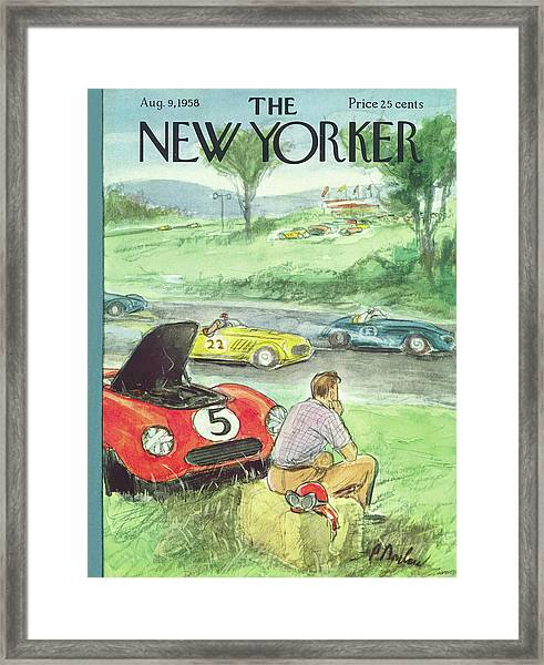 New Yorker August 9th, 1958 Framed Print