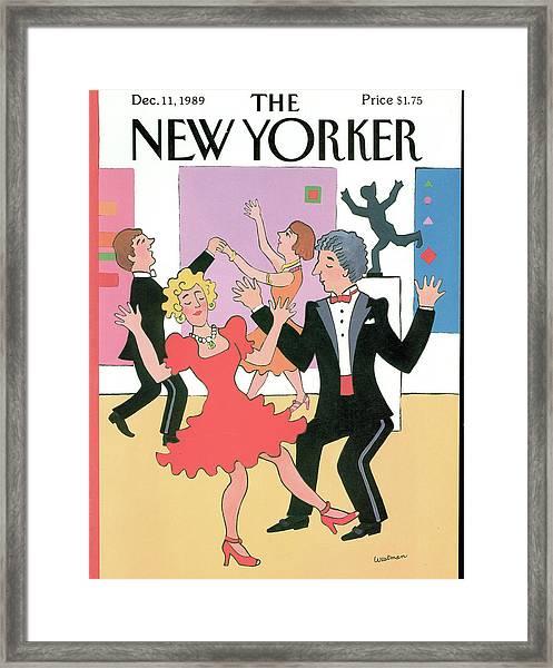 New Yorker December 11th, 1989 Framed Print
