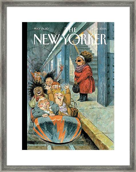 New Yorker December 11th, 2006 Framed Print