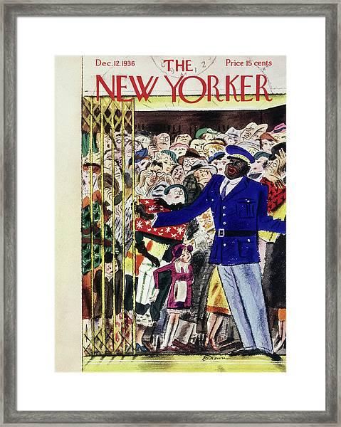New Yorker December 12 1936 Framed Print