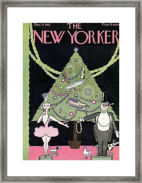 New Yorker December 12th, 1925 Framed Print
