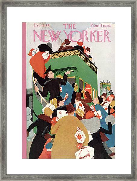 New Yorker December 12th, 1931 Framed Print