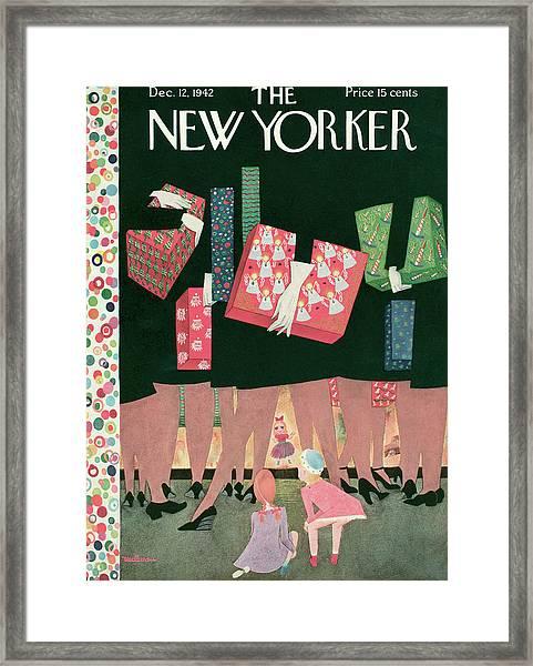 New Yorker December 12th, 1942 Framed Print