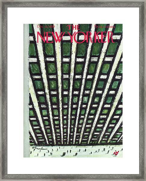 New Yorker December 12th, 1959 Framed Print