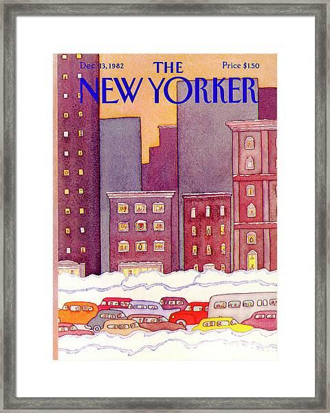 New Yorker December 13th, 1982 Framed Print