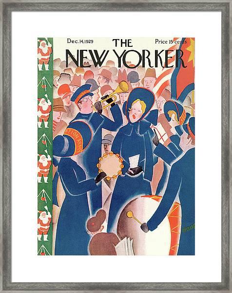 New Yorker December 14th, 1929 Framed Print