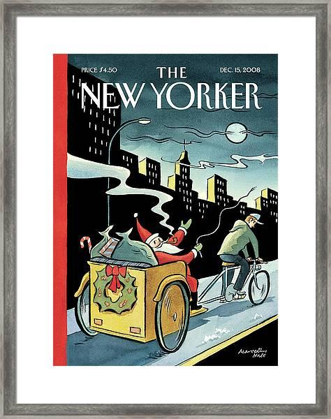 New Yorker December 15, 2008 Framed Print