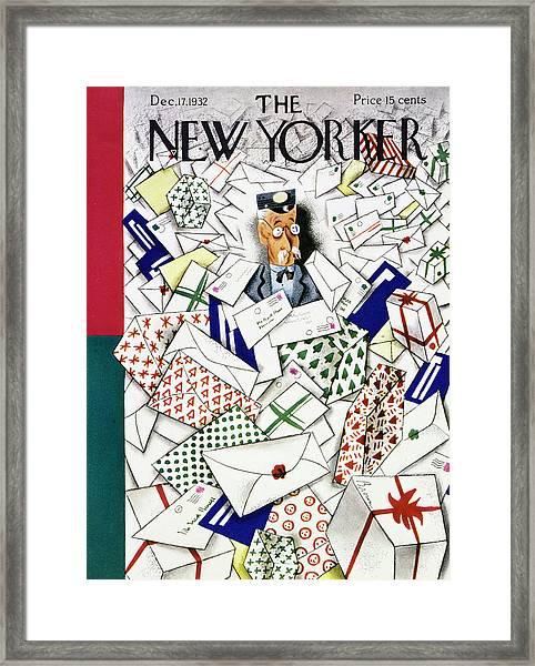 New Yorker December 17 1932 Framed Print
