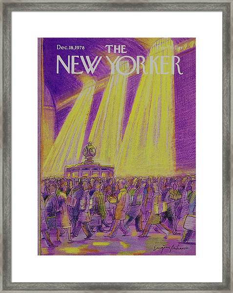 New Yorker December 18th 1978 Framed Print