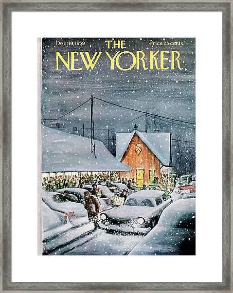 New Yorker December 19th, 1959 Framed Print