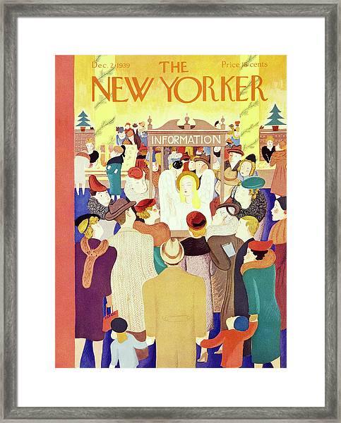 New Yorker December 2 1939 Framed Print