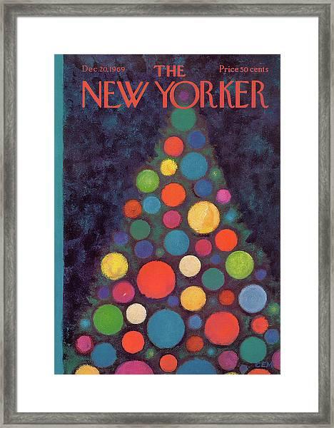New Yorker December 20th, 1969 Framed Print