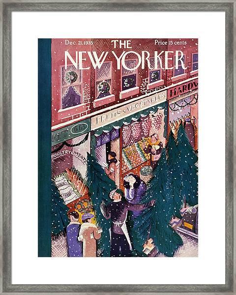 New Yorker December 21 1935 Framed Print