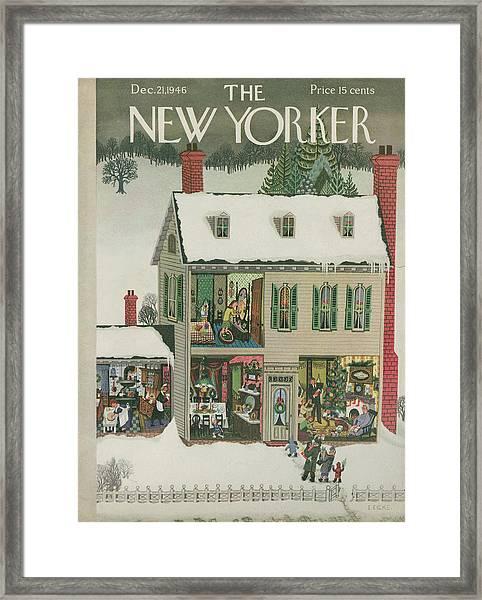 New Yorker December 21st, 1946 Framed Print