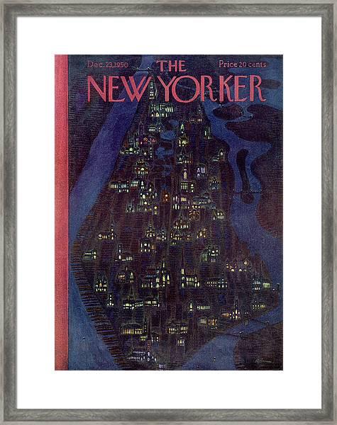 New Yorker December 23, 1950 Framed Print
