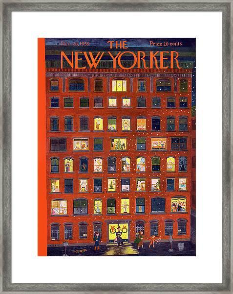 New Yorker December 26, 1953 Framed Print