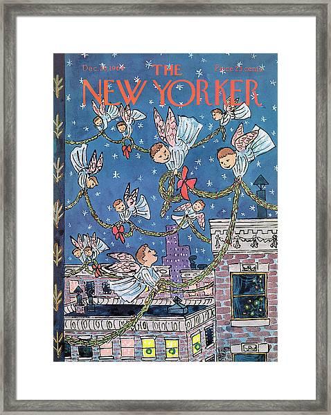 New Yorker December 26th, 1964 Framed Print