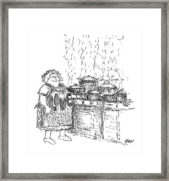 New Yorker December 27th, 1969 Framed Print by Edward Koren