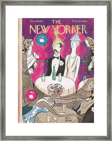 New Yorker December 28th, 1929 Framed Print