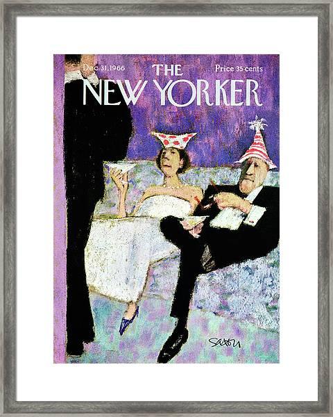 New Yorker December 31st, 1966 Framed Print