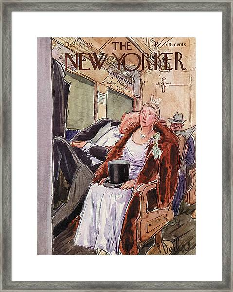 New Yorker December 3rd, 1938 Framed Print