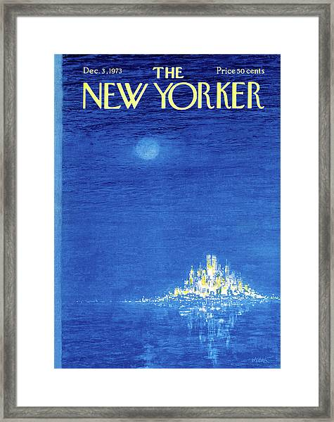 New Yorker December 3rd, 1973 Framed Print