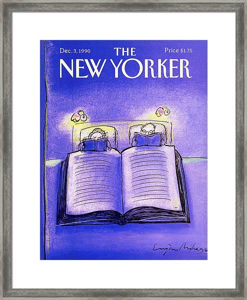 New Yorker December 3rd, 1990 Framed Print