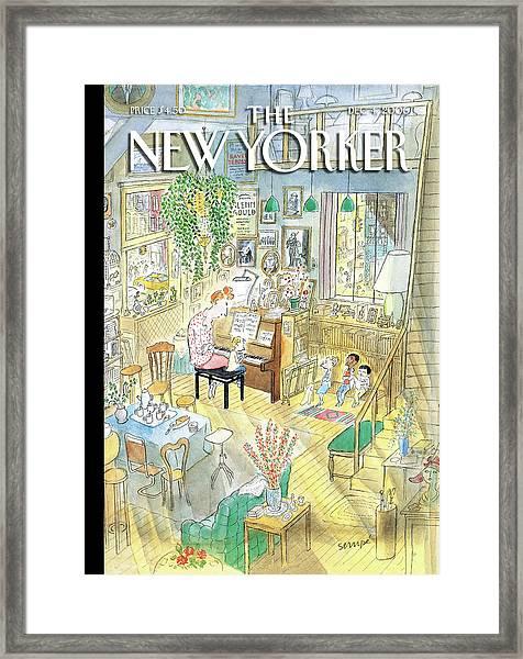 New Yorker December 4th, 2006 Framed Print