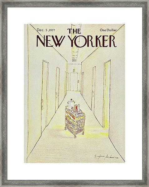 New Yorker December 5th 1977 Framed Print by Eugene Mihaesco