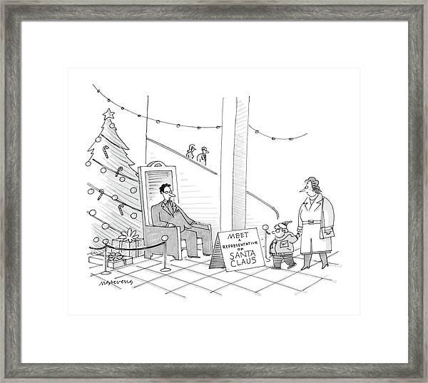 New Yorker December 5th, 1988 Framed Print