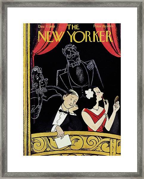 New Yorker December 7 1940 Framed Print by Rea Irvin