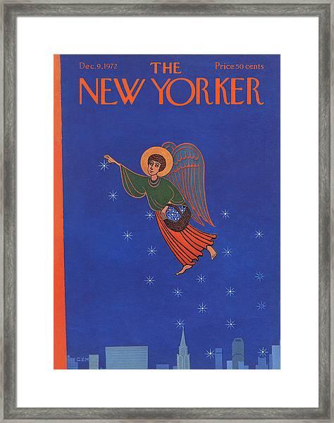 New Yorker December 9th, 1972 Framed Print
