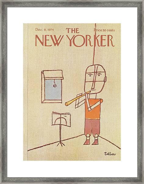 New Yorker December 9th, 1974 Framed Print