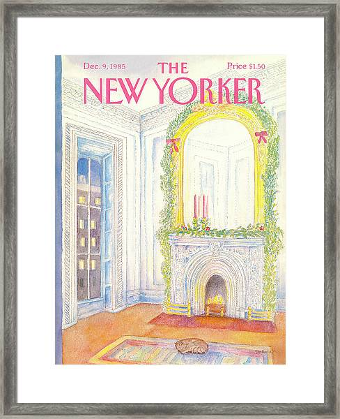New Yorker December 9th, 1985 Framed Print