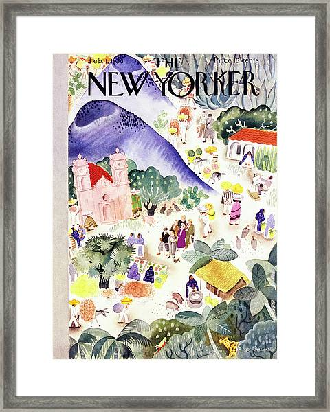 New Yorker February 1 1936 Framed Print