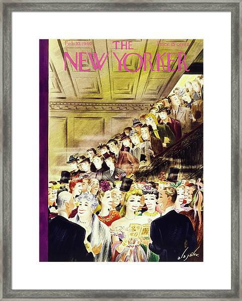New Yorker February 10 1940 Framed Print