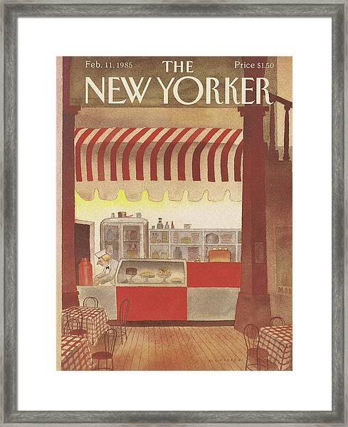 New Yorker February 11th, 1985 Framed Print