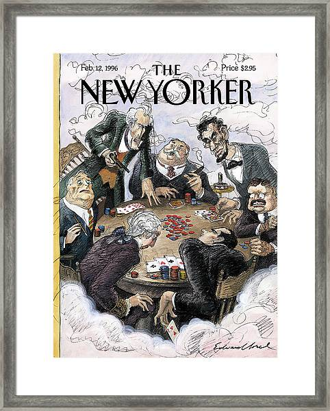 New Yorker February 12th, 1996 Framed Print
