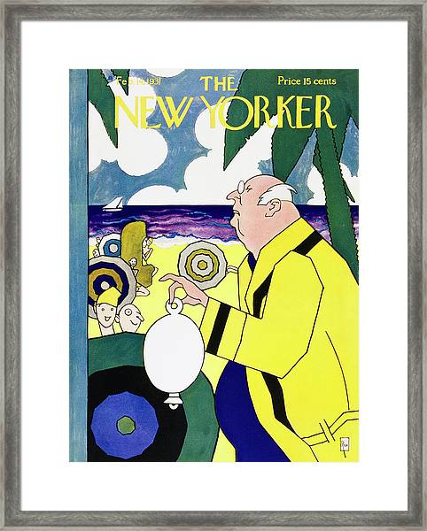 New Yorker February 14 1931 Framed Print by Gardner Rea